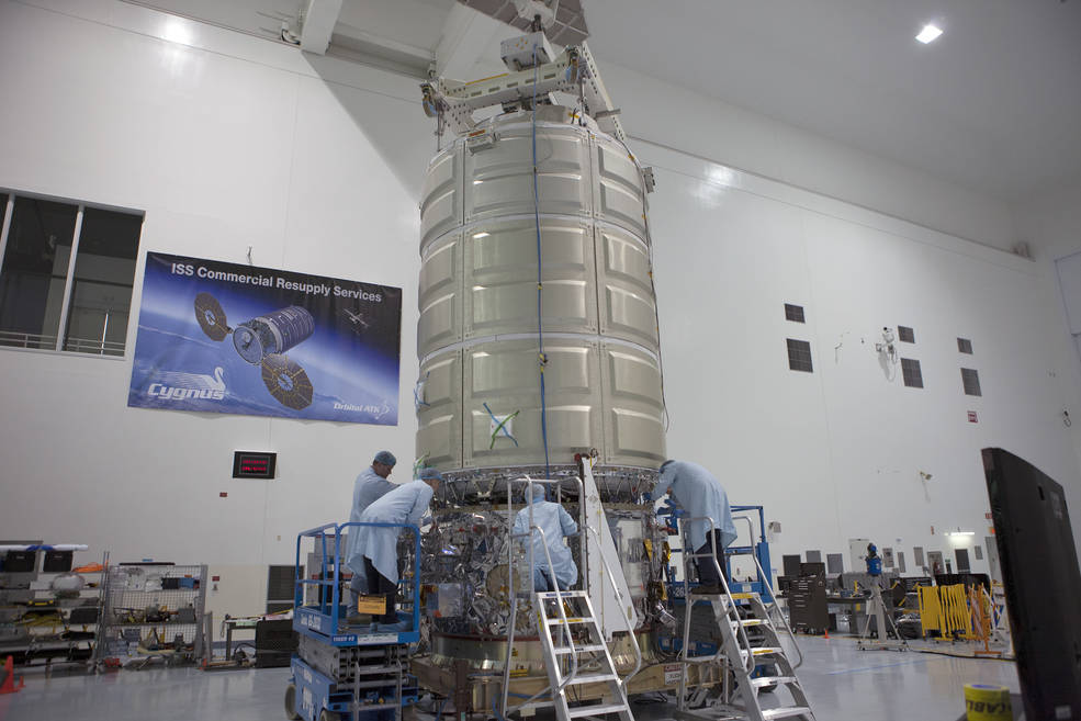 Orbital ATK's Cygnus spacecraft