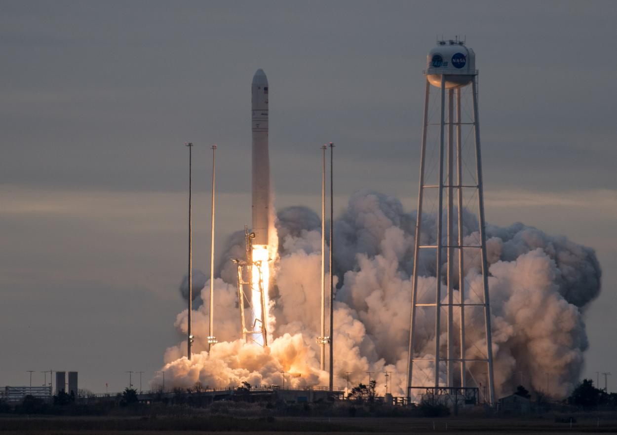 Launch of Orbital ATK's Cygnus spacecraft